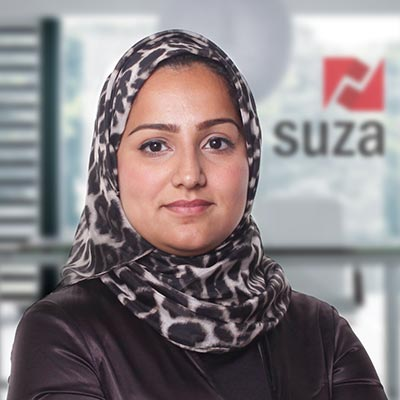 Sukaina Haider Managing Director, Suza Events